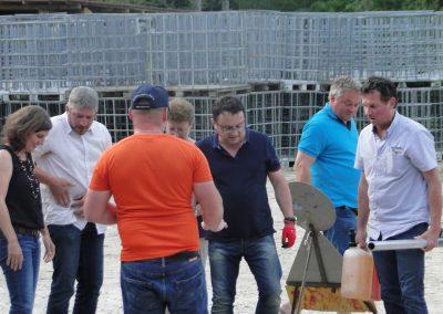 l'équipe d'Orbe se prépare pour la grande épreuve (non non Didier c'est pas le moment de chercher tes poches)