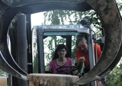 et de la Présidente du Triage… pas si facile que ça le dicastère des forêts hein…